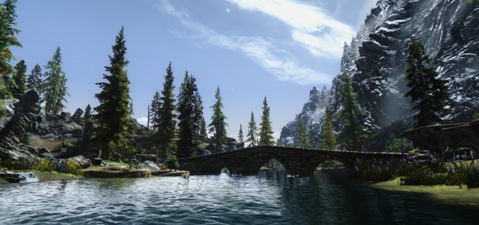 Skyrim - pretty.
